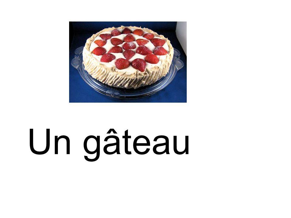 Un gâteau