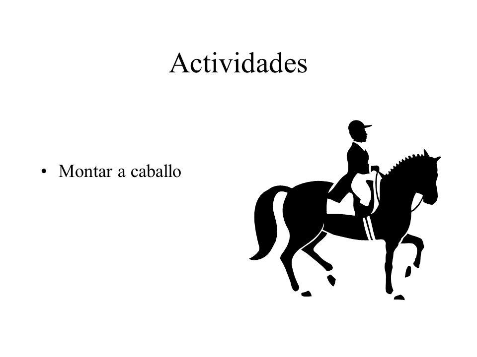 Actividades Hacer el ciclismo