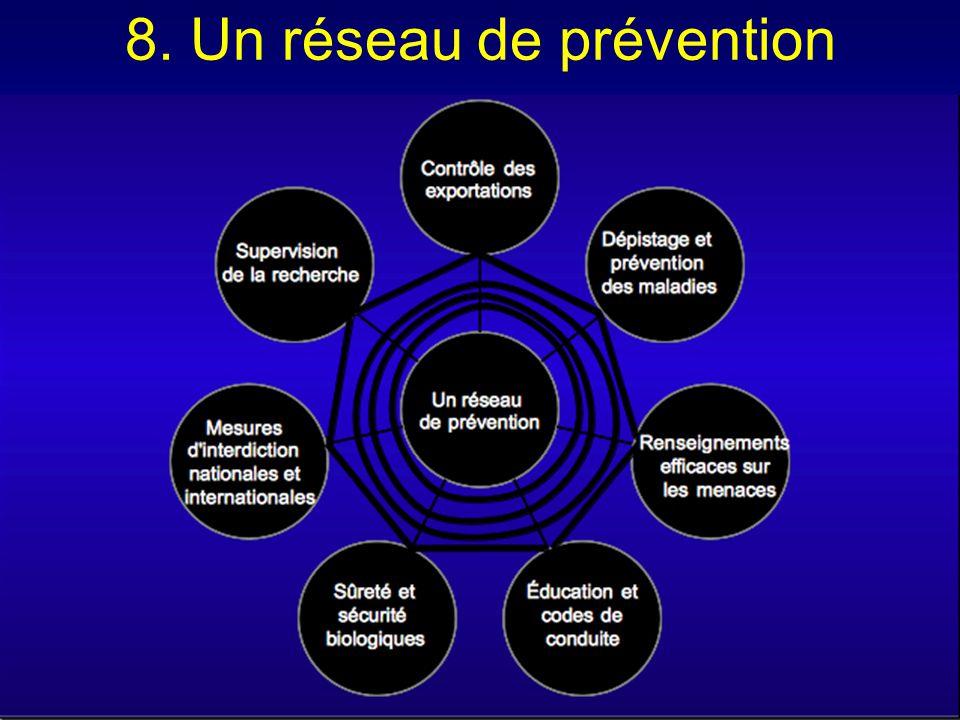 8. Un réseau de prévention
