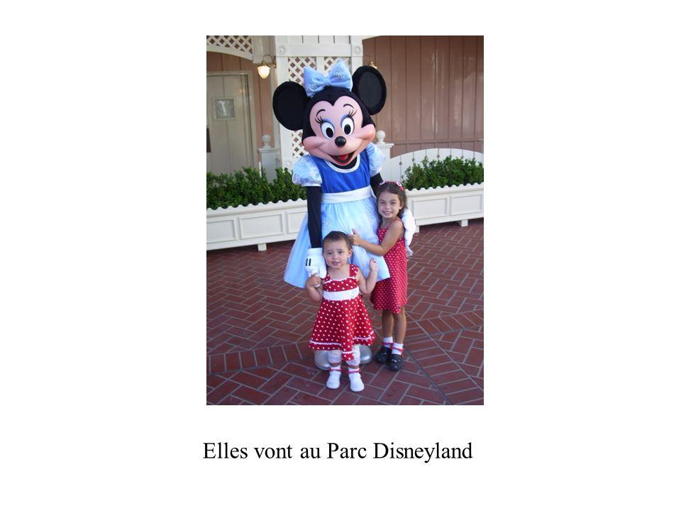 Elles vont au Parc Disneyland