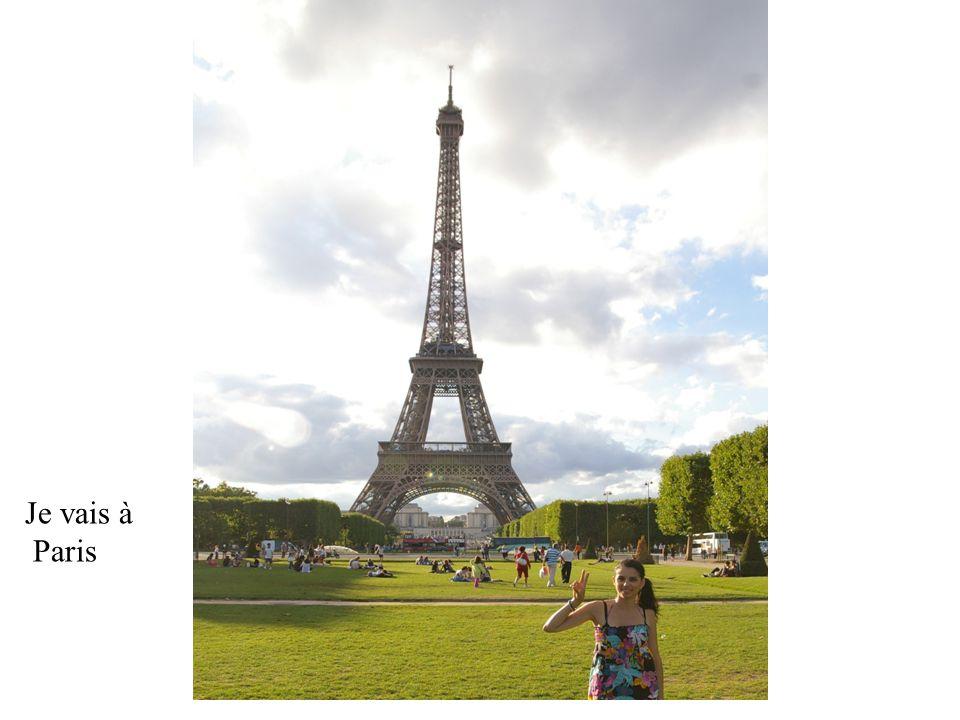 Je vais à Paris