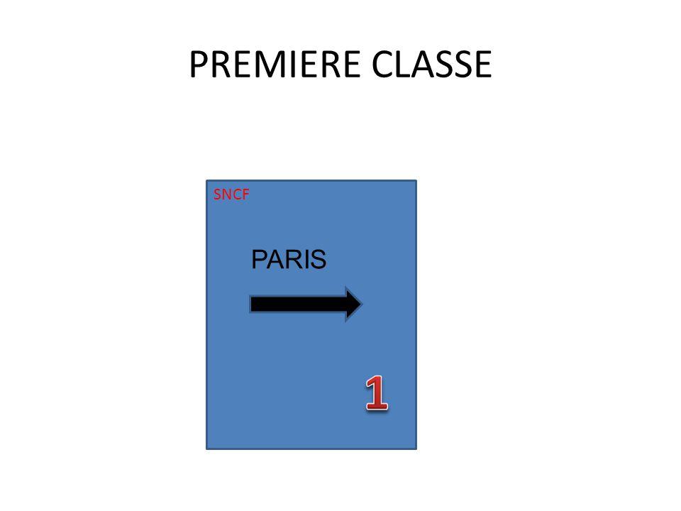 PREMIERE CLASSE SNCF PARIS