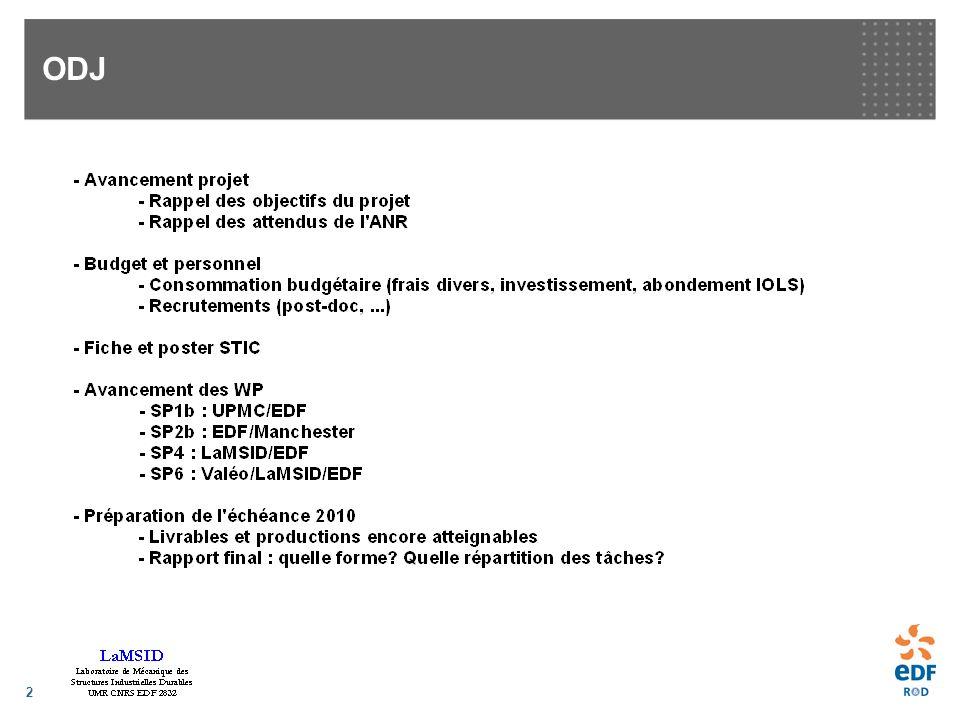 3 Projet STURM4 - Programme ANR Calcul Intensif et Simulation (CIS) 2006 - Partenaires : EDF, Paris 6, Valéo, LaMSID + ECL + Manchester - Mots-clés -LES, RANS/LES -Turbulence pariétale -Maillages composites -Aéroacoustique -Fluide/Structure -Calcul intensif -Applications industrielles : faisceaux de tubes, profils