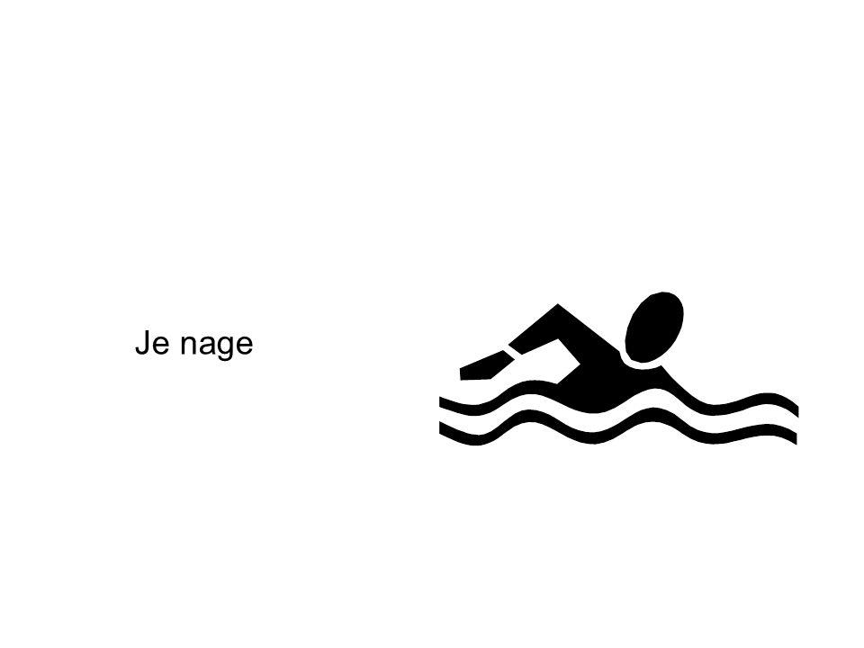 Je nage