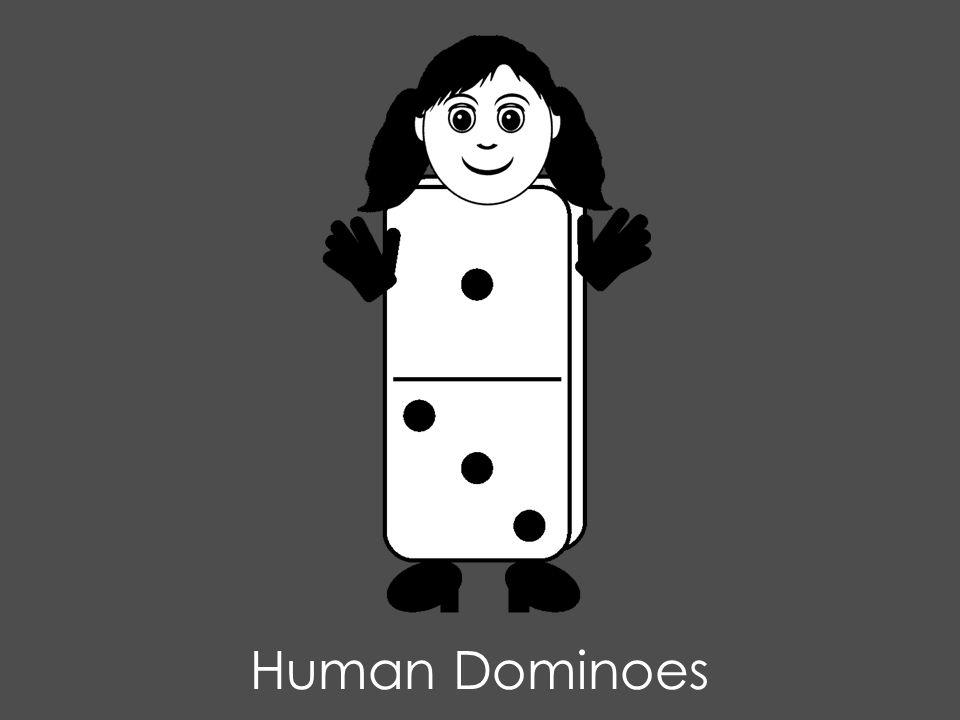 Human Dominoes