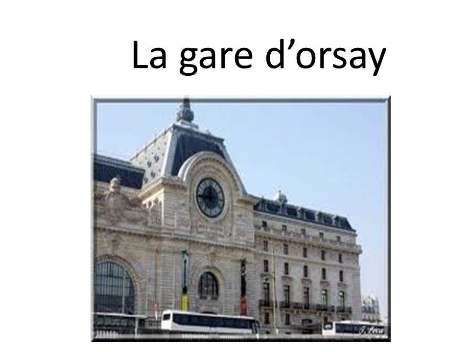 La gare dorsay