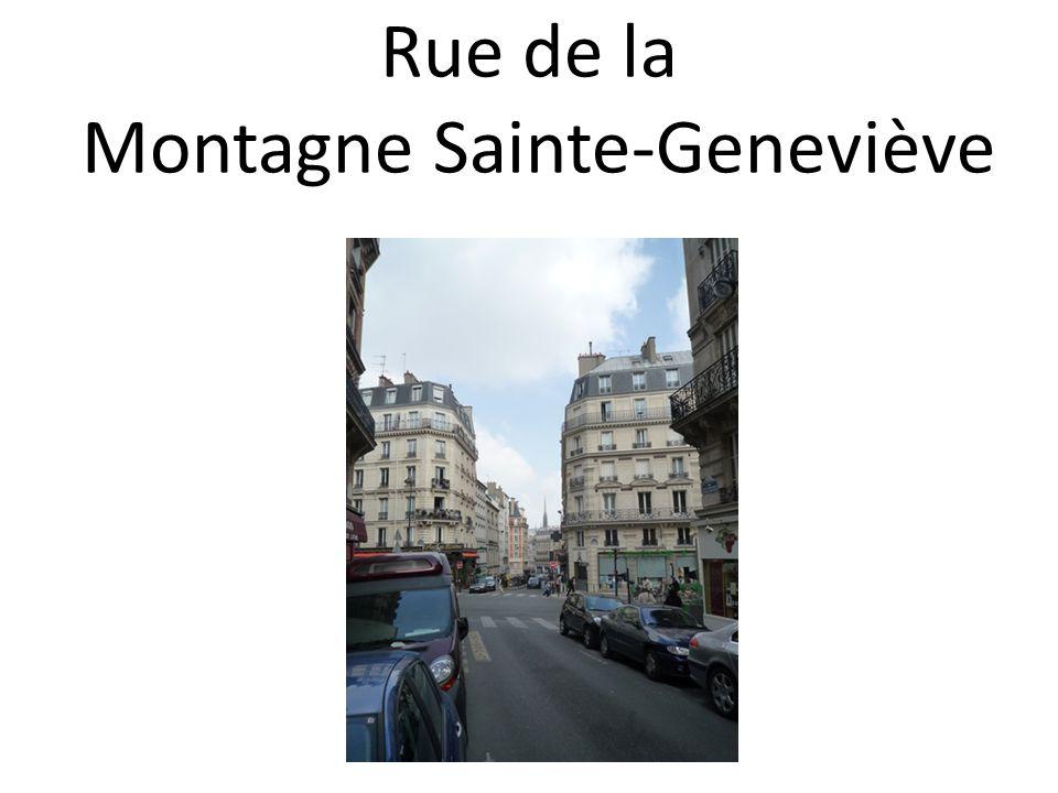Rue de la Montagne Sainte-Geneviève
