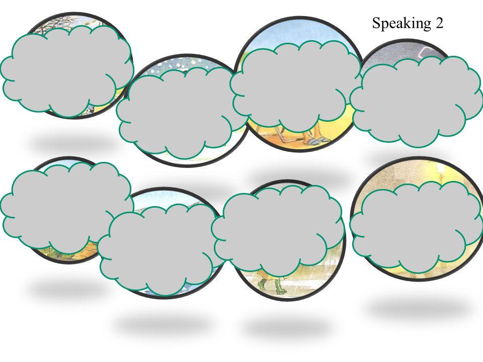Quel temps fait-il Il y a du brouillard Speaking 2