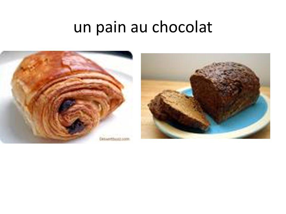 un pain au chocolat