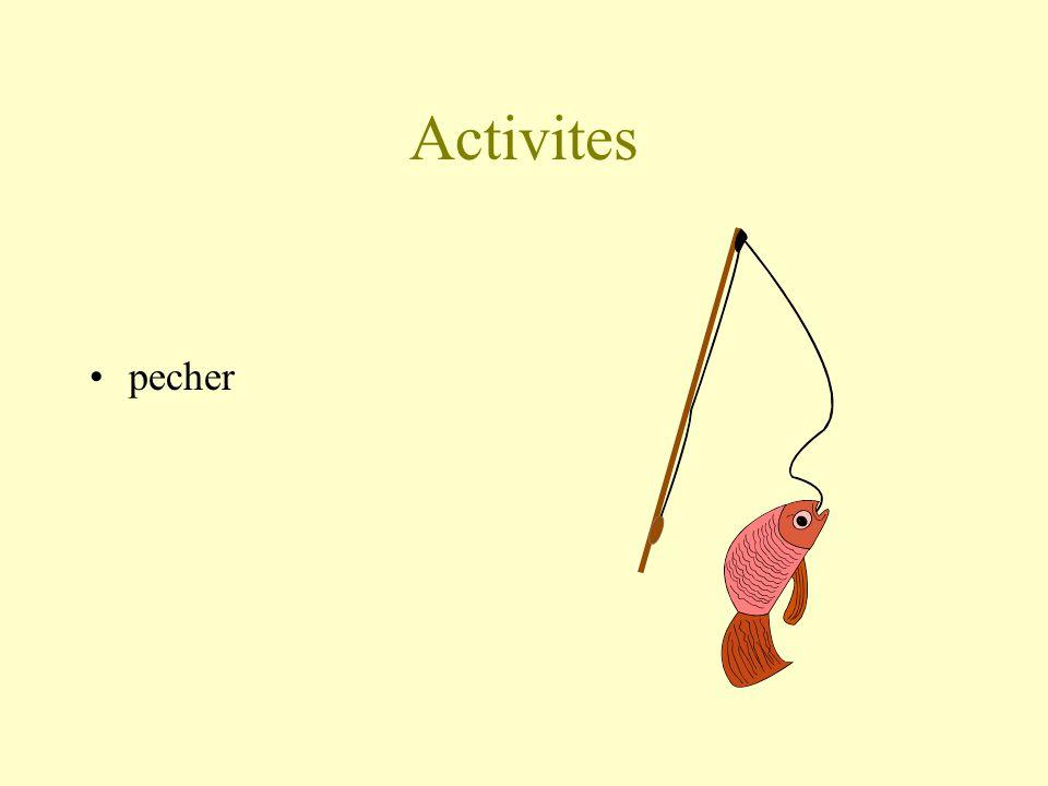 Activites pecher