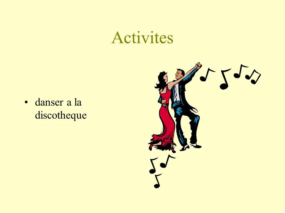 Activites danser a la discotheque