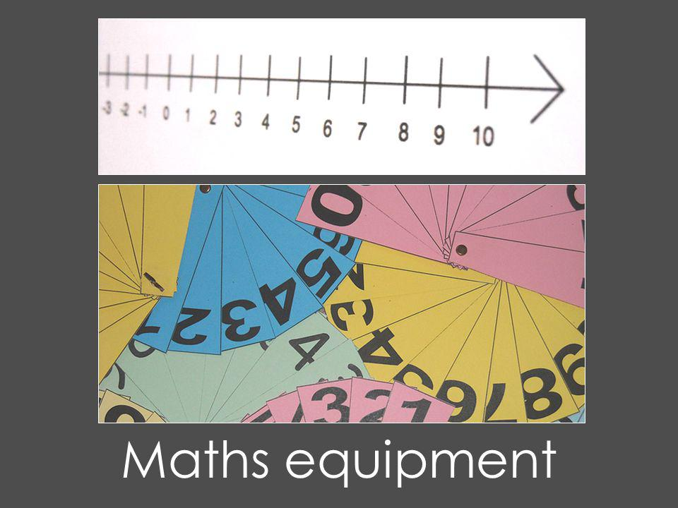 Maths equipment