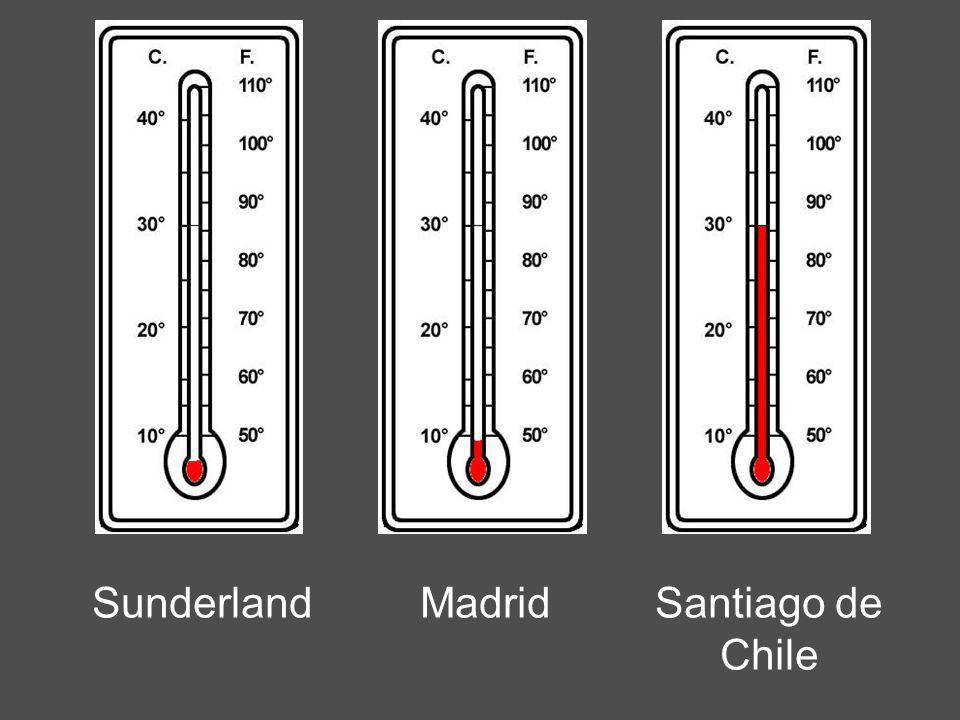MadridSunderlandSantiago de Chile