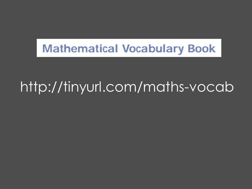 http://tinyurl.com/maths-vocab