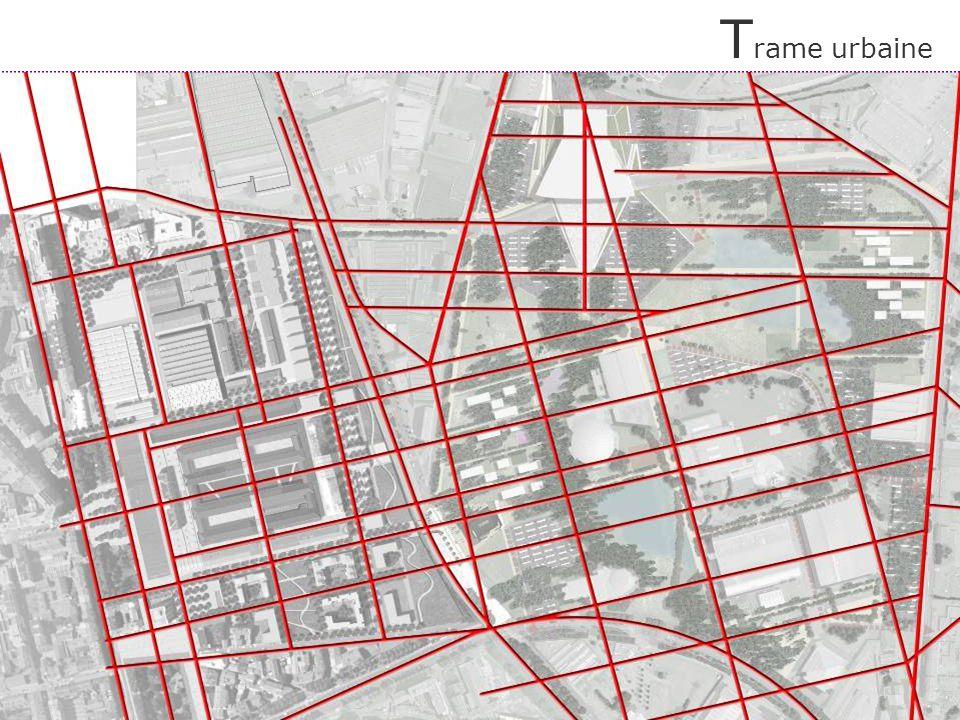 Le traitement de la coupure par le redoublement de la forme urbaine de la Manufacture jusquen façade de la Plaine des Parcs F igure de la Manufacture