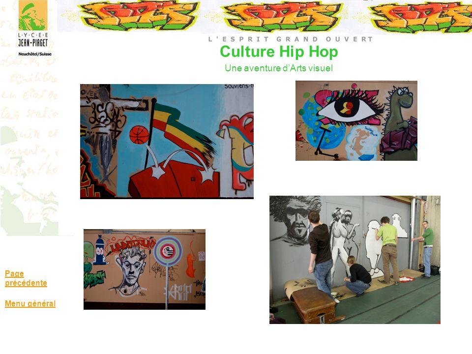 Culture Hip Hop Une aventure dArts visuel Page précédente Menu général