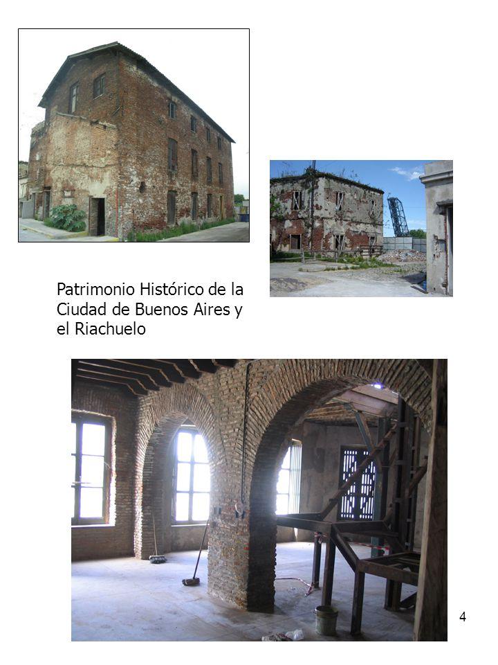 4 Patrimonio Histórico de la Ciudad de Buenos Aires y el Riachuelo