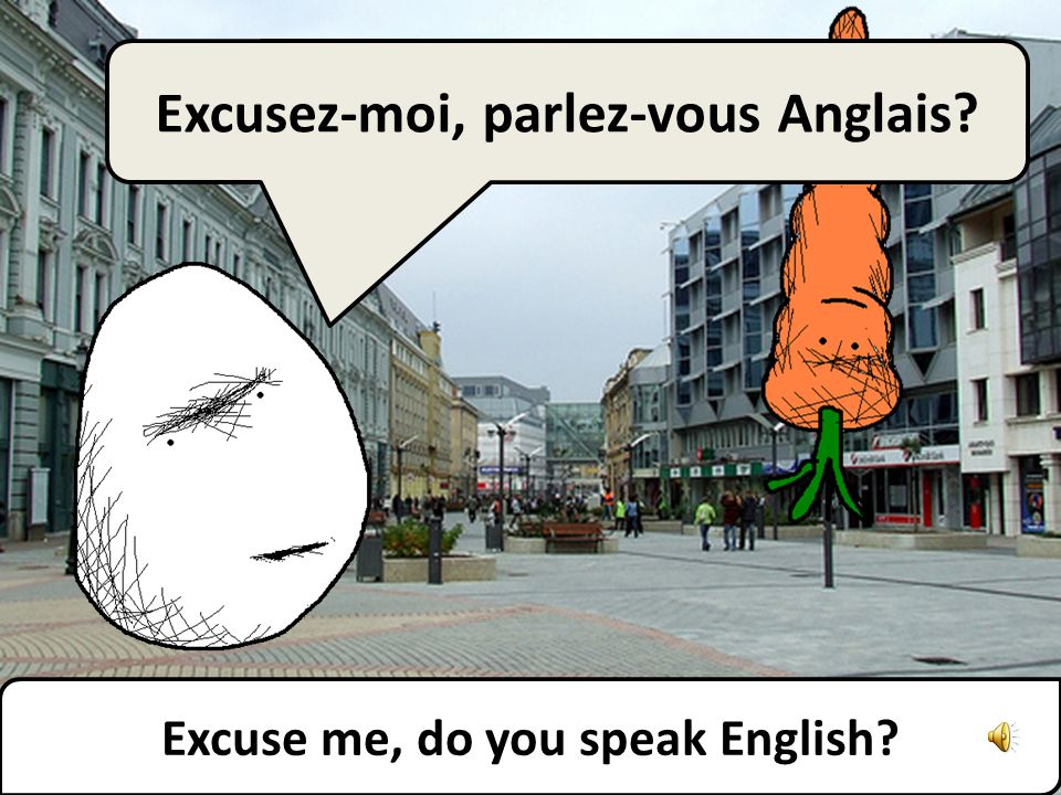 Je déteste les anglophones. Allez-vous en ! I hate English speakers. Go away!