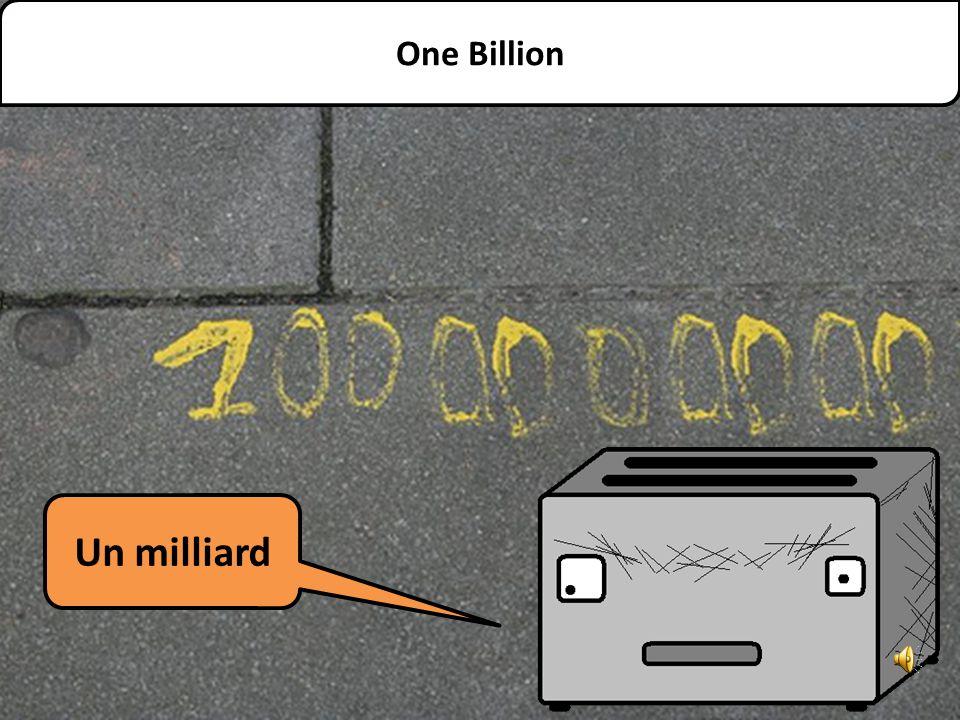 Un million One Million