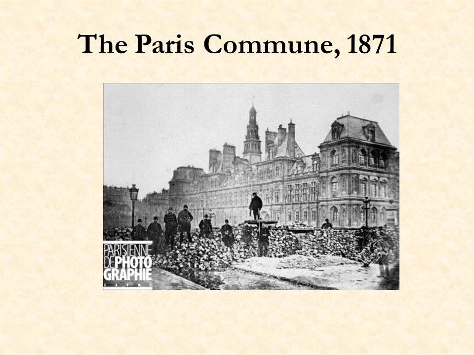 Women in the Commune Les femmes ne se demandaient pas si une chose était possible, mais si elle était utile, alors on réunissait à laccomplir.