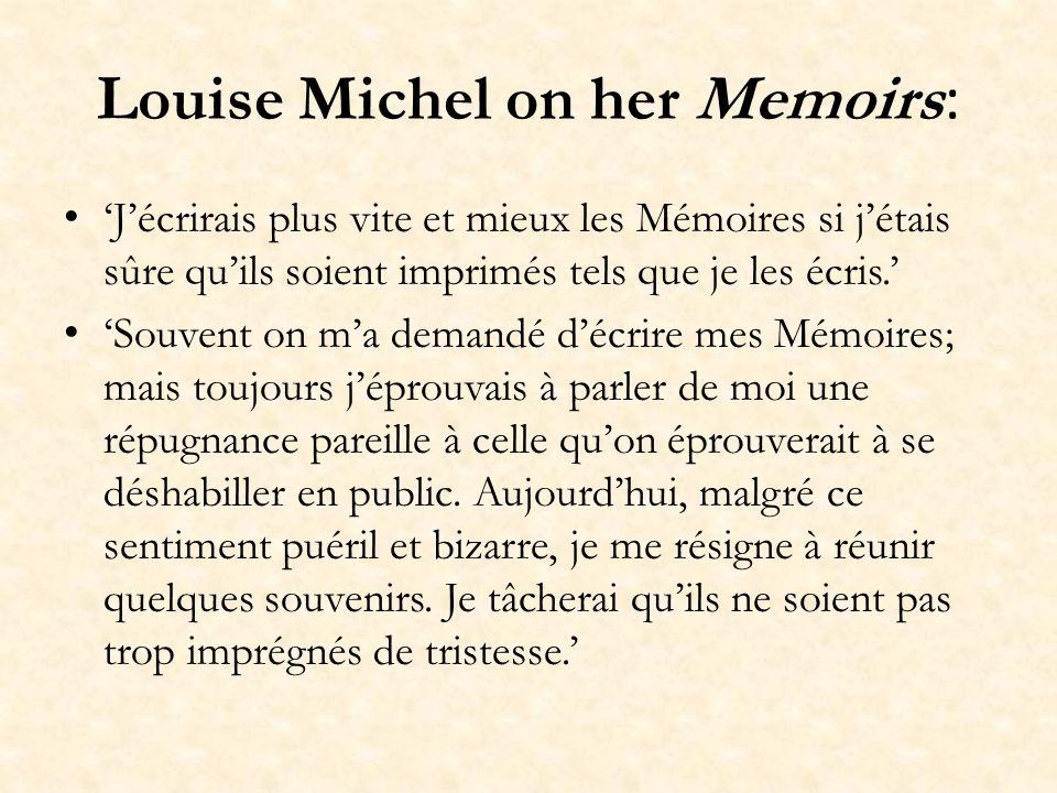 Michel and other feminists Paule Mink André Léo (Victoire-Léodile Béra) Maria Deraismes