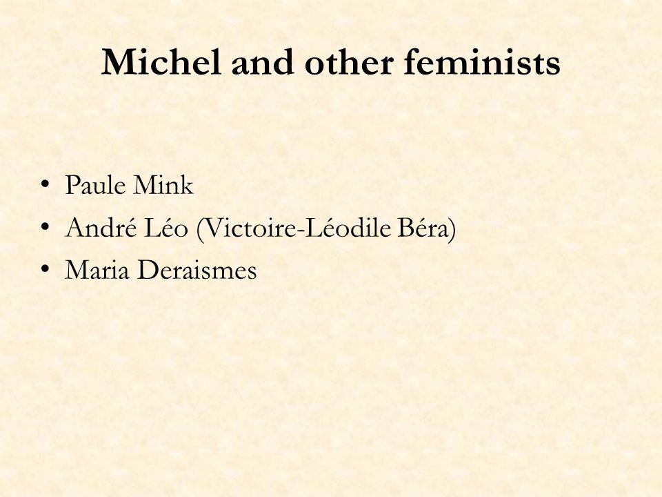 Legends Mais il y a deux Louise Michel: celle de la légendre et celle de la réalité, qui nont lune avec lautre aucun point de ressemblance.