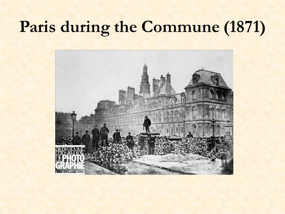 Paris during the Commune (1871)