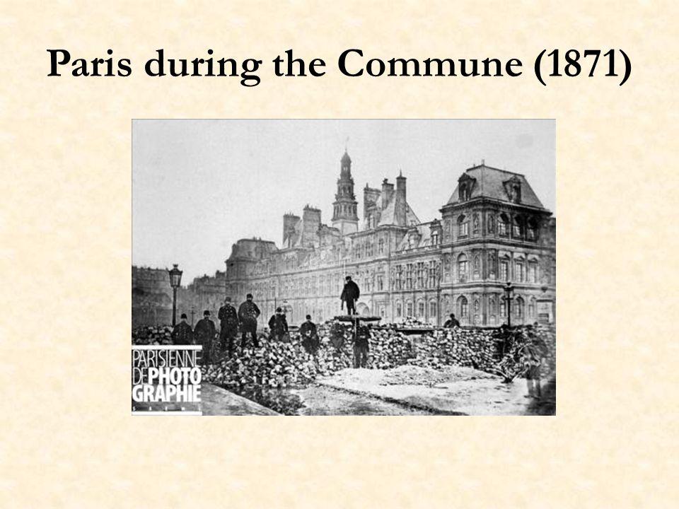 Paris during the Commune (1871)