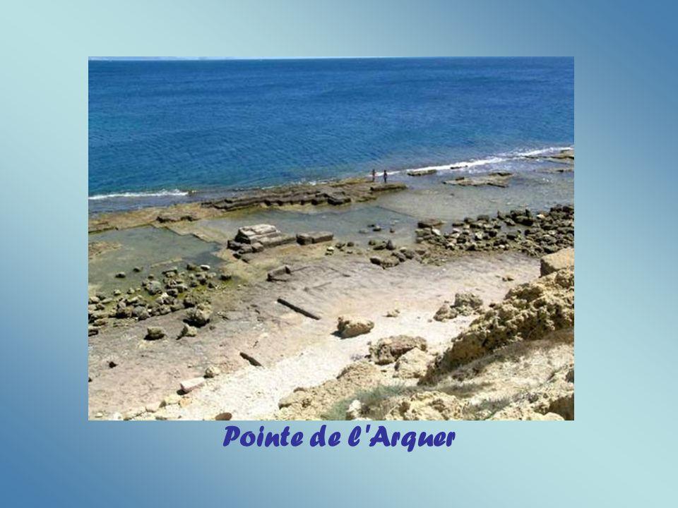 Plage du Cap Rousset à Carry