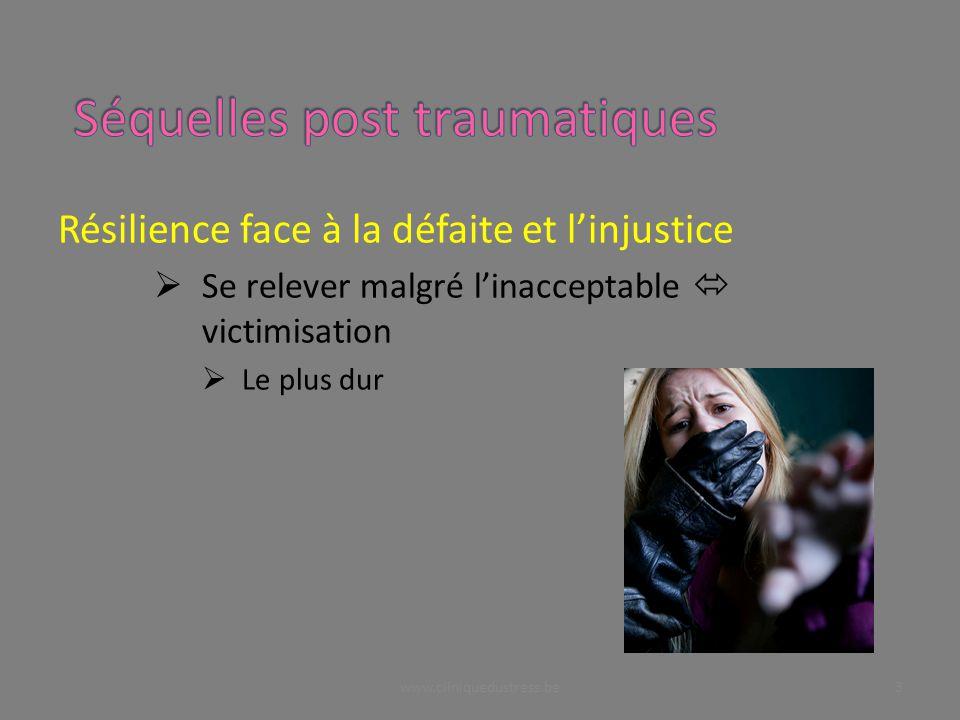 Résilience face à la défaite et linjustice Se relever malgré linacceptable victimisation Le plus dur 3