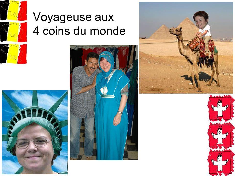 Voyageuse aux 4 coins du monde