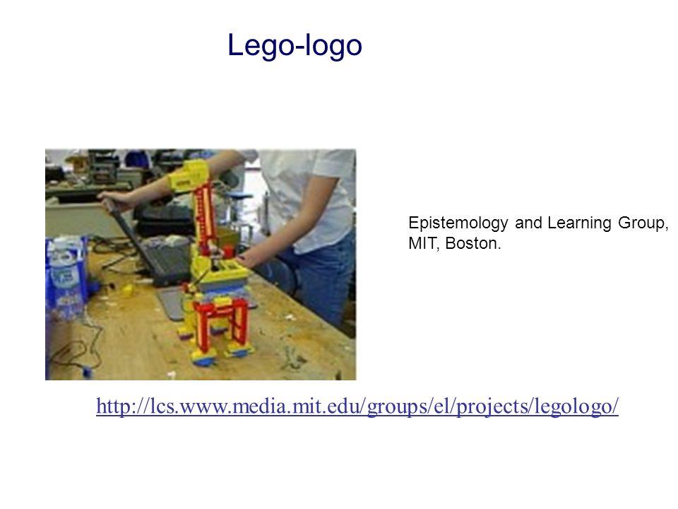 Lego-logo http://lcs.www.media.mit.edu/groups/el/projects/legologo/ Epistemology and Learning Group, MIT, Boston.