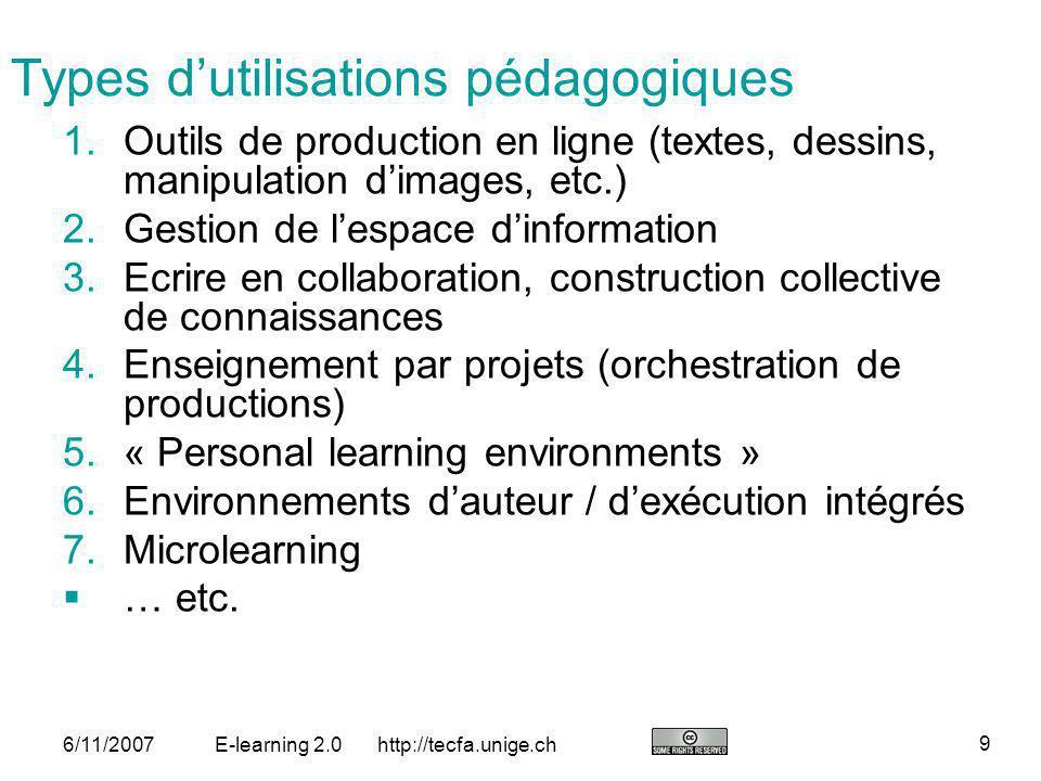 http://tecfa.unige.ch 20 6/11/2007E-learning 2.0 DialogPlus toolkit