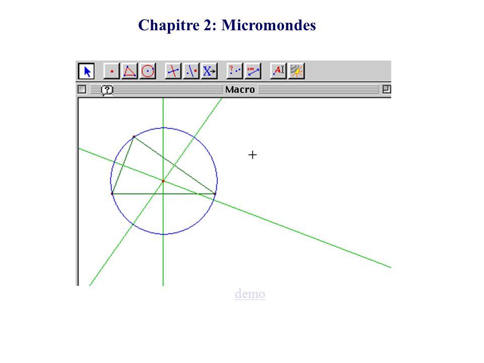 Chapitre 2: Micromondes demo