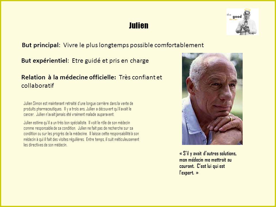 André André Lejeune a 52 ans est récemment divorcé et vit seul à Lyon.