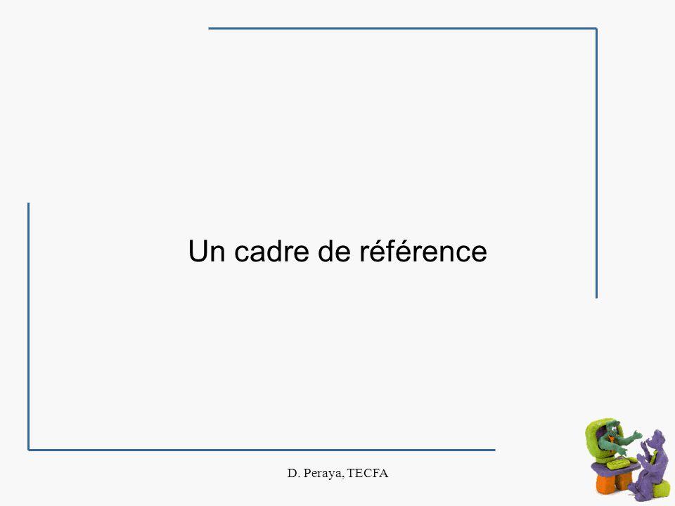 D. Peraya, TECFA Lutilisation des verbes selon les intervenants