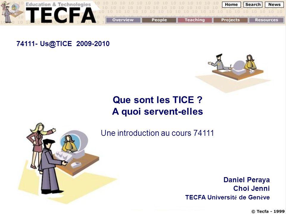 23.09.08Us@TICE1 Que sont les TICE .