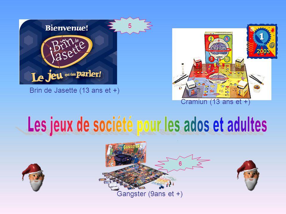 5 Brin de Jasette (13 ans et +) 6 Gangster (9ans et +) Cramiun (13 ans et +) 2003
