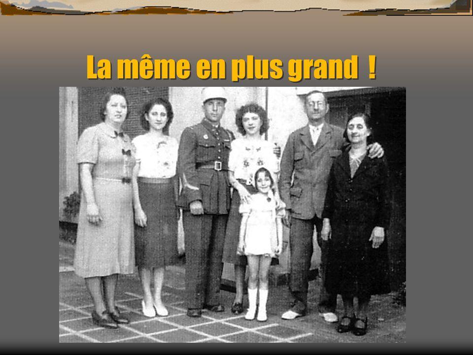 La famille de mon grand-père Alors là, une photo de famille rare ! La famille RICO, avec de gauche à droite: Les deux filles RICO, tantes de Bernard R