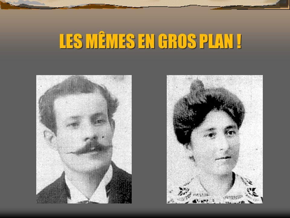 Les parents de mon grand-père Le père de mon grand- père, mon arrière grand- père en somme ! Vous suivez jusque là ?