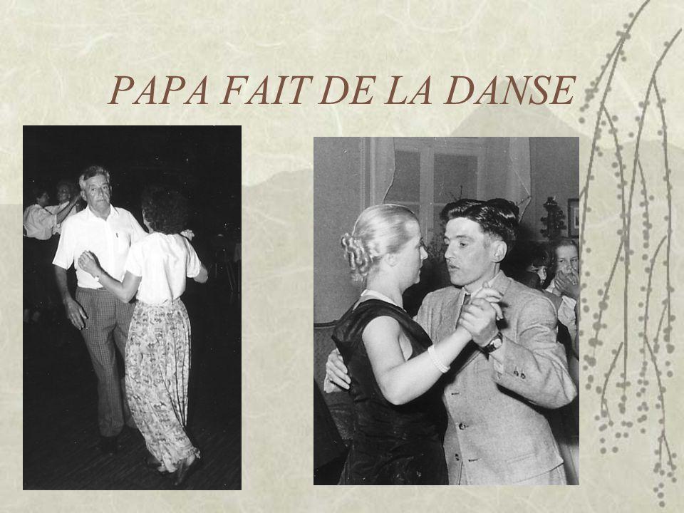 PAPA FAIT DE LA DANSE
