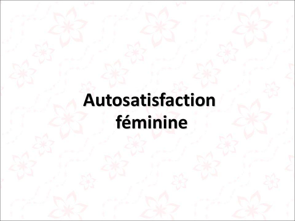 Autosatisfaction féminine féminine