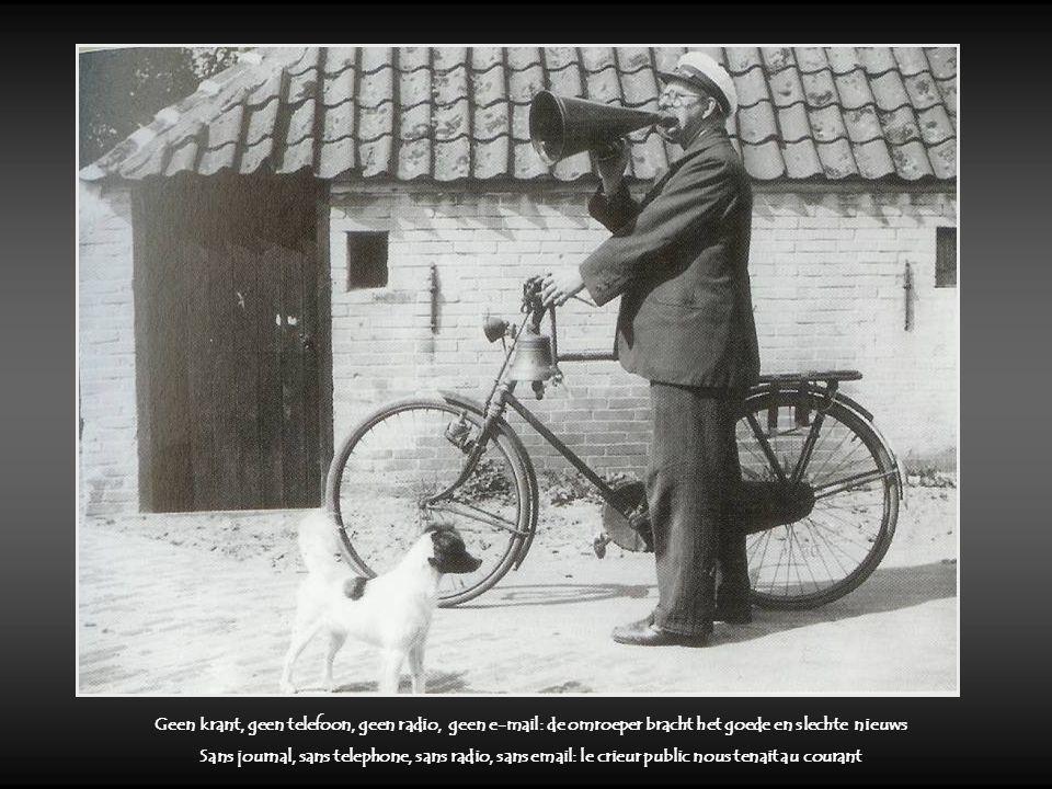Leurders : die waren nog te vertrouwen Du porte à porte : acheter en toute confiance Boter smokkelen : een kat en muis spel Le trafic de beurre : un sport passionnant