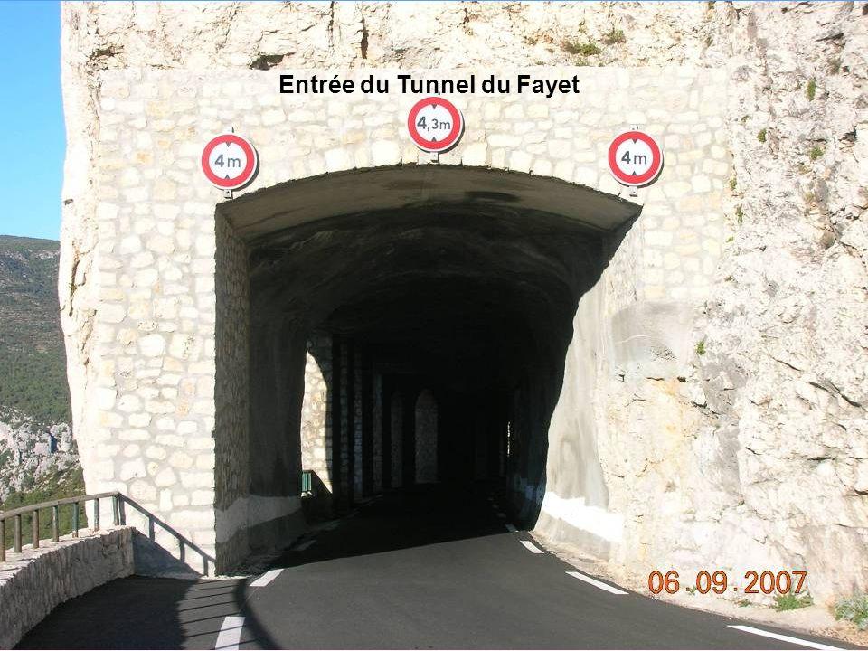 Entrée du Tunnel du Fayet