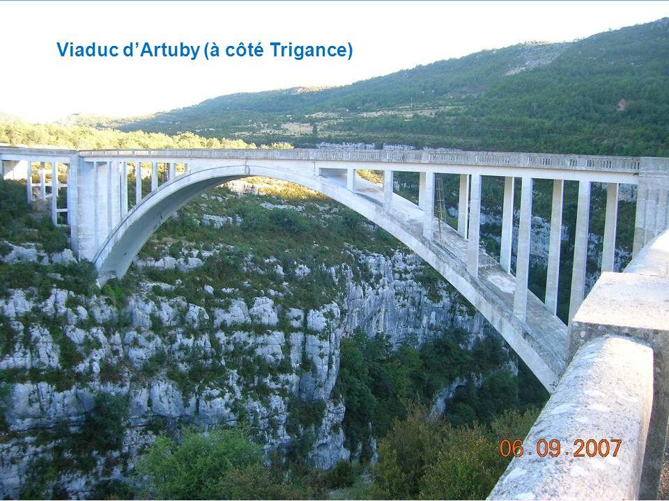 Viaduc dArtuby (à côté Trigance)