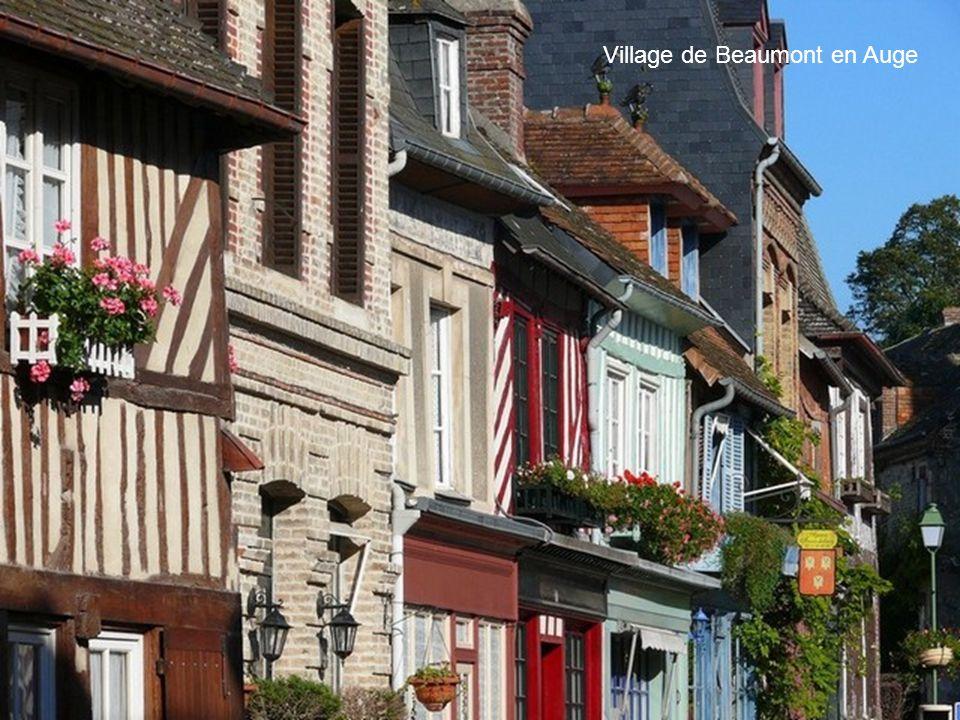 Village de Beaumont en Auge