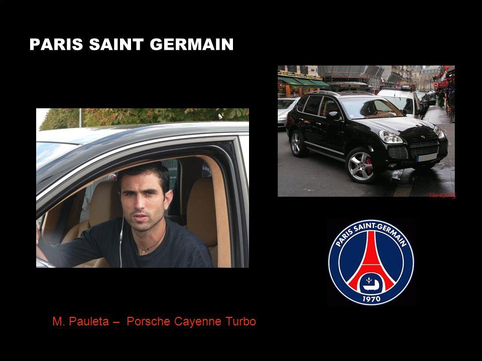 PARIS SAINT GERMAIN Gallardo – Porsche 996