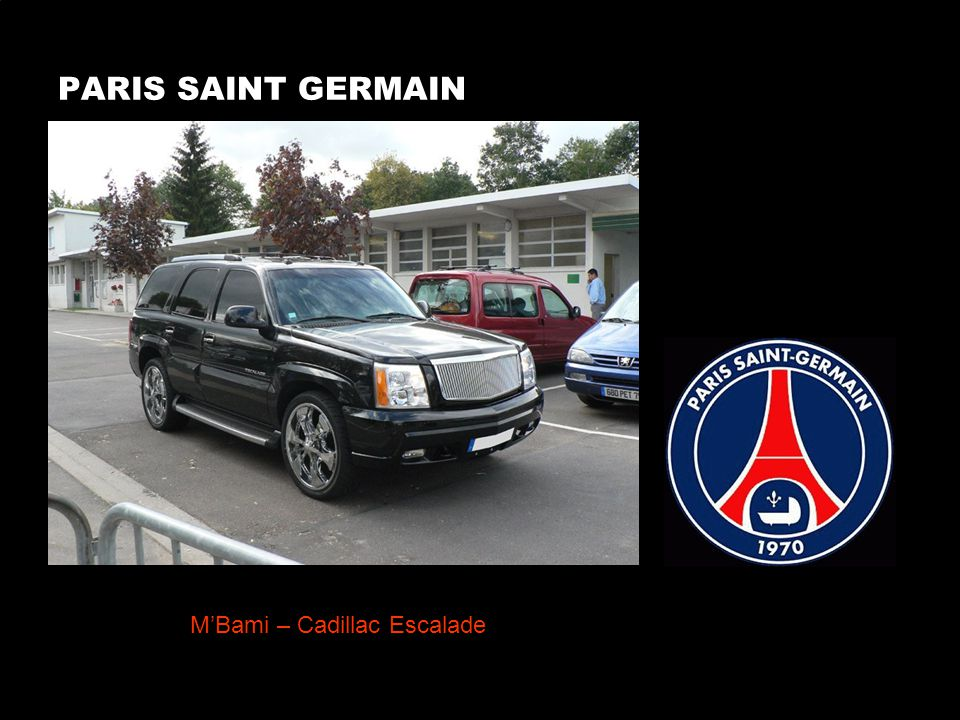 PARIS SAINT GERMAIN MBami – Cadillac Escalade