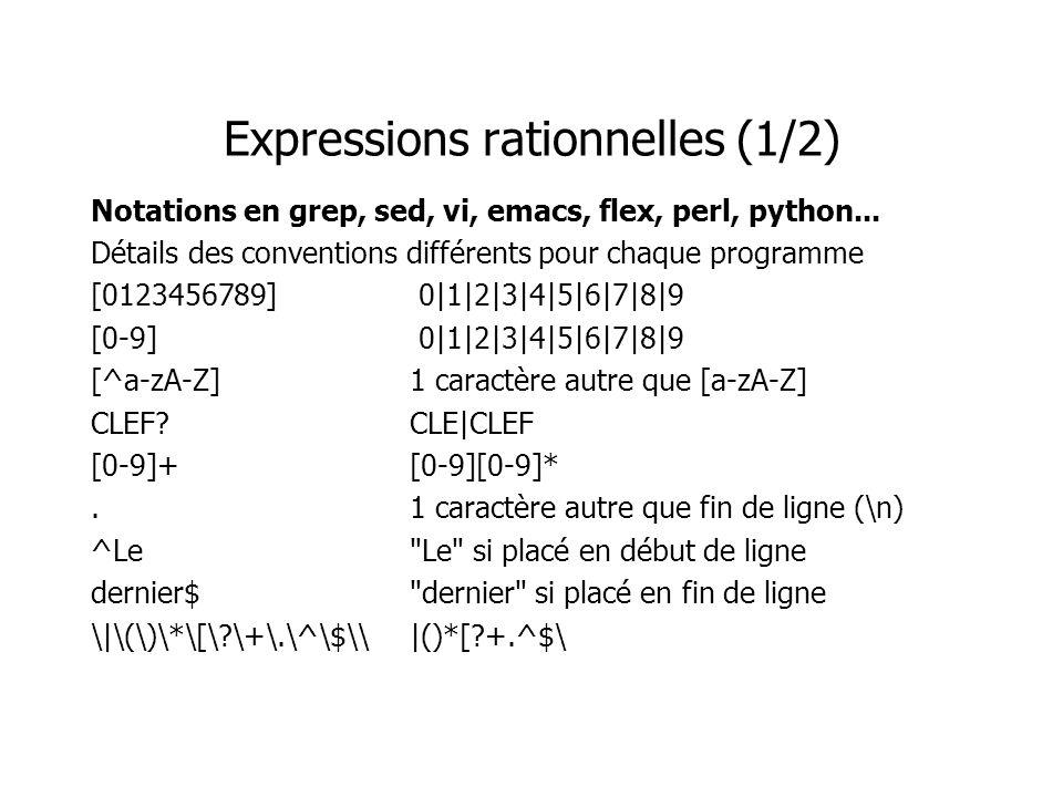 Effet d un relâchement de contrainte Exemple : admettre des équivalents sémantiques Le rappel a tendance à augmenter, la précision à diminuer (pluls de documents) Rappel et précision (3/5) précision rappel 1 1 0