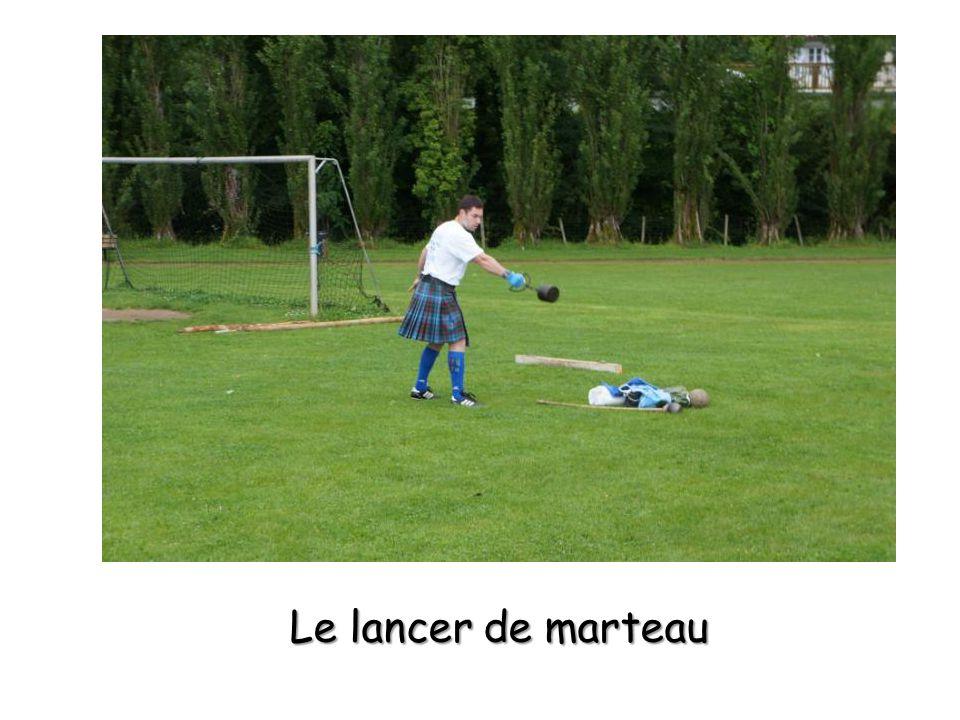Le lancer de marteau